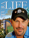 kevin Costner on cover of Ventura Life Magazine